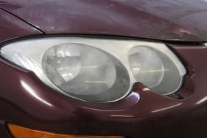 Headlight Restoration Before 2