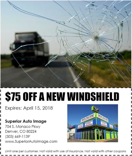 $75 Off A New Windshield
