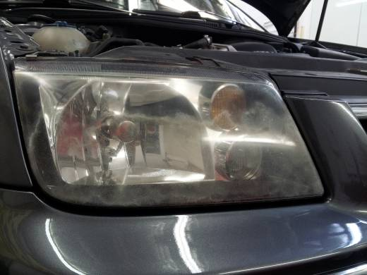 Headlight Restoration Denver - Before