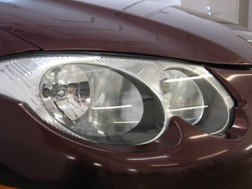 Headlight Restoration Denver - After