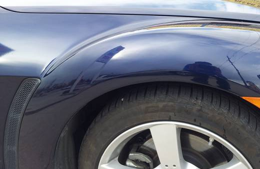 Paintless Dent Repair Denver Fender After